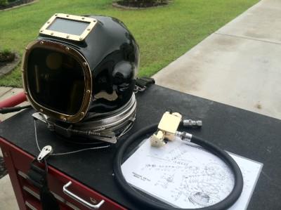 Aquadyne Airhat Diving Helmet