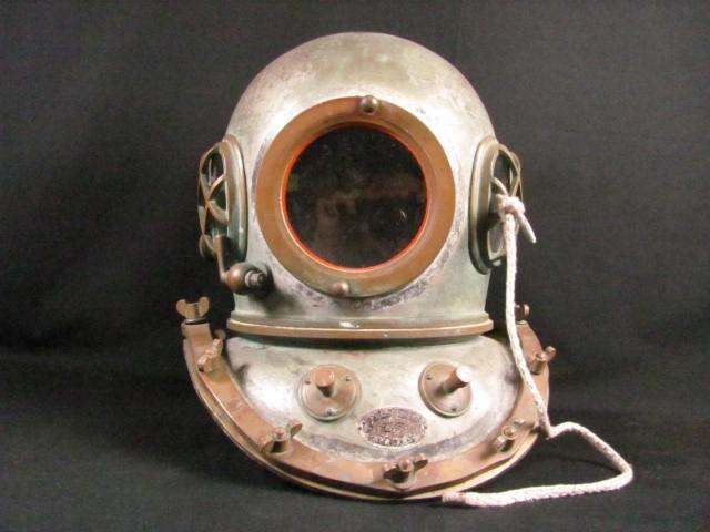 Japanese Diving Helmet