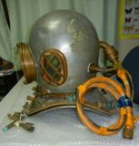 Japanese Diving Helmet