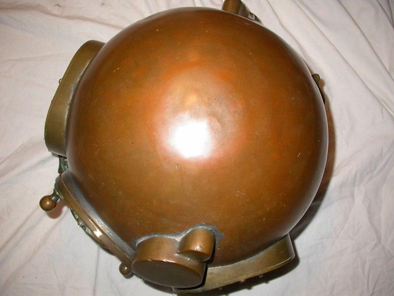 morse commercial diving helmet