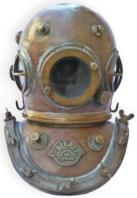 Galeazzi Diving Helmet