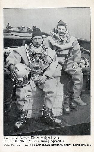 heinke diving helmet