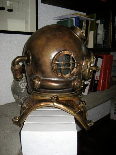 schrader mark v diving helmet 1918