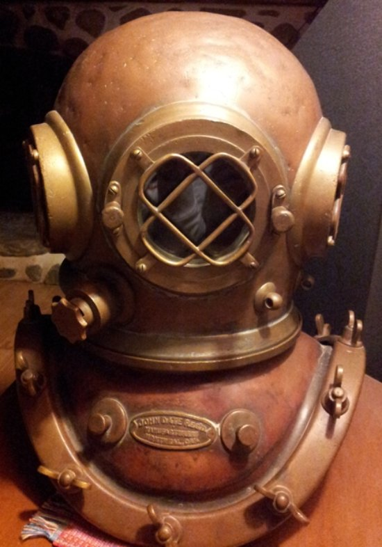 John Date Diving Helmet