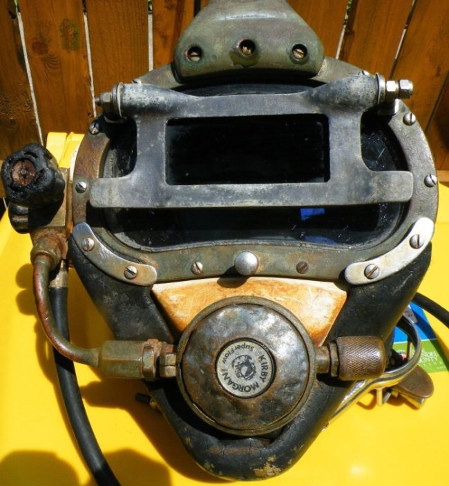 kirby morgan superlite 17 diving helmet