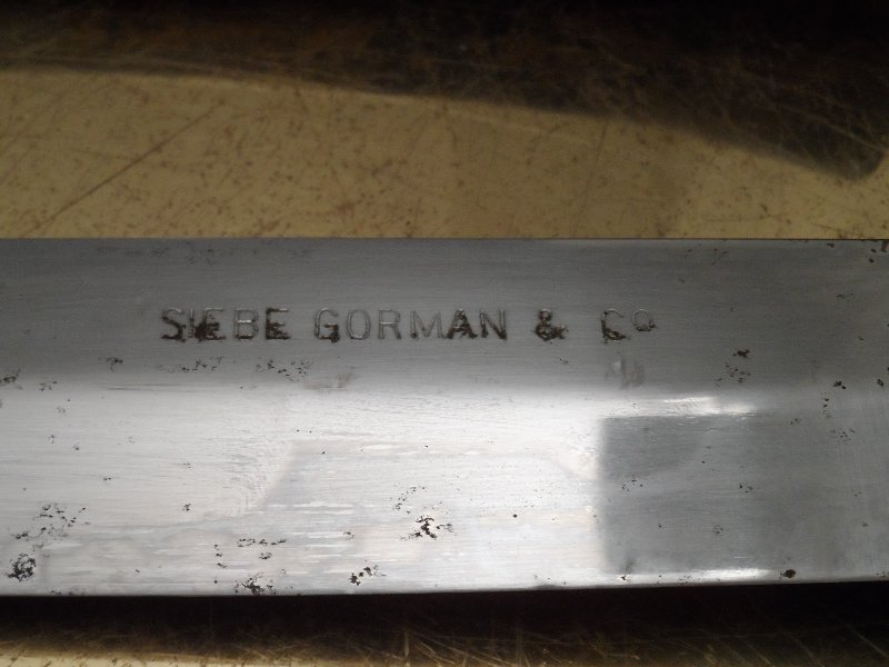 Siebe Gorman Diving Knife
