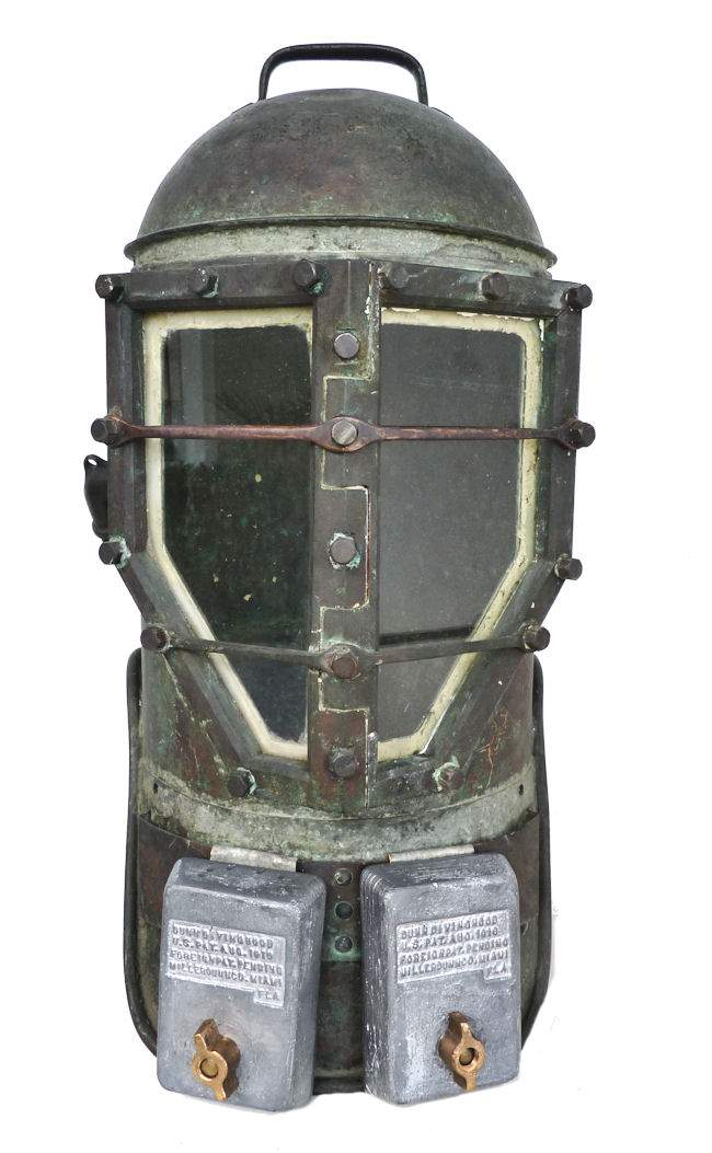 miller dunn diving helmet