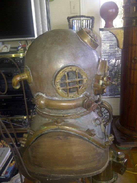 Mark V Diving Helmet for sale