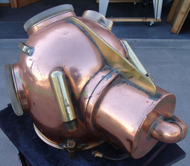 Kirby Yokohama Helium Diving Helmet